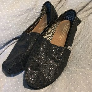 Adorable Sparkly TOMS
